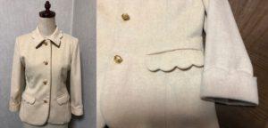 スカラップのジャケット