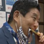 河村たかし(名古屋市長)の評判ガタ落ち?メダルを噛んだ理由とは?